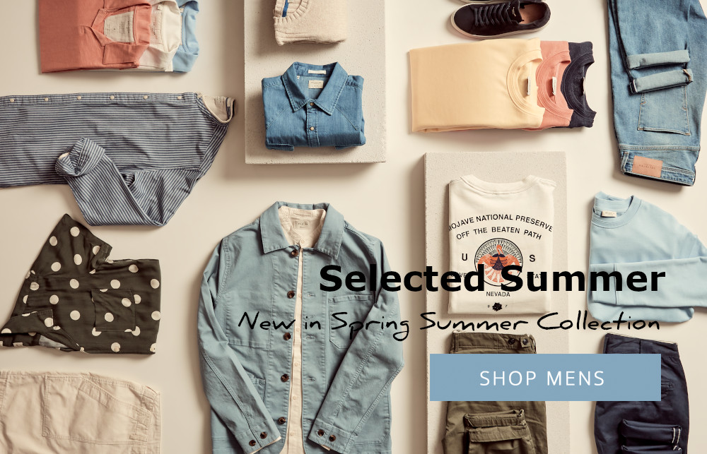 selected homme pastel coloured clothing