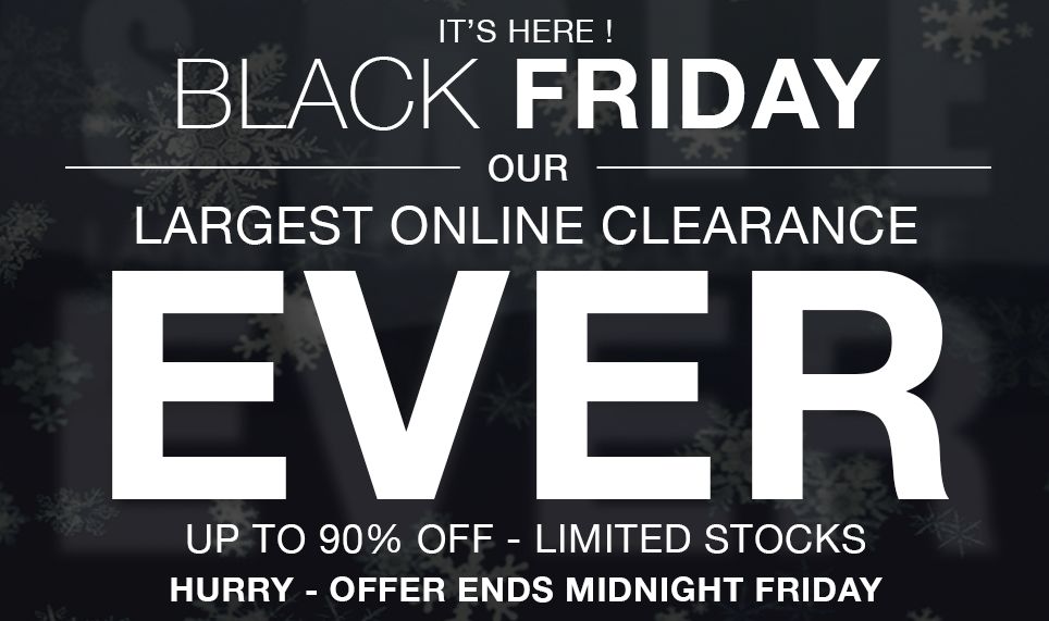 Massive Black Friday Sale Now On