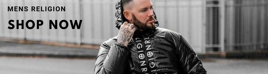 new in mens religion clothing