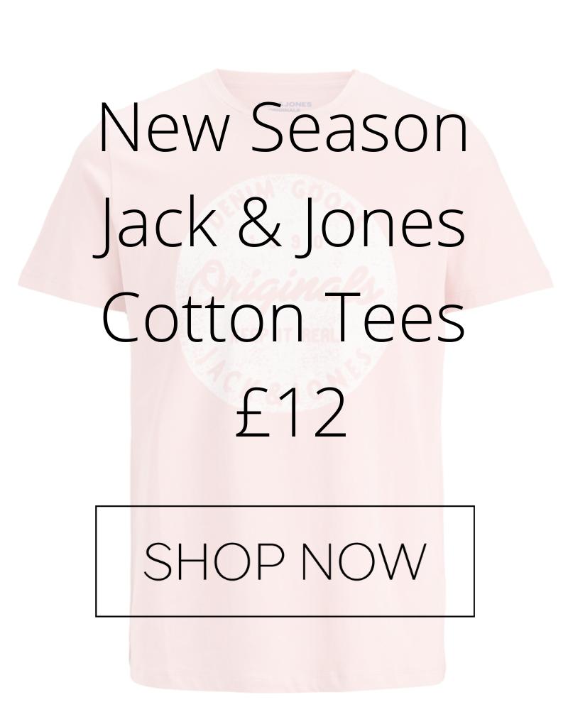 Jack and Jones mens t-shirts