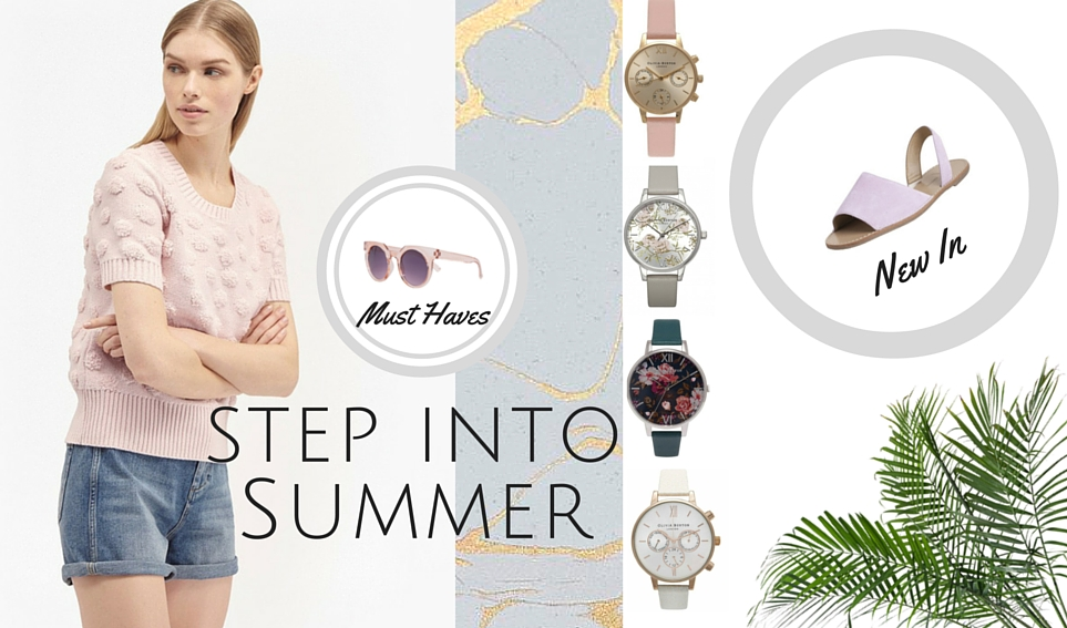 Step into Summer
